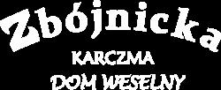 Logo Zbójnicka - białe